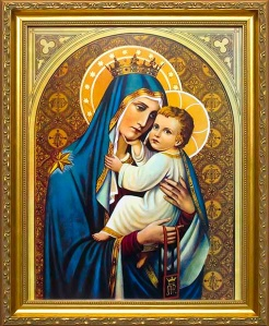 Our-Lady-of-Mount-Carmel-Framed-Print22929lg