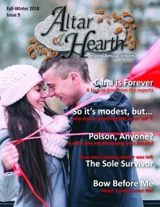 Altar & Hearth Issue 9 Fall-Winter 2018 Cover